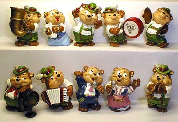 Медведи музыканты.