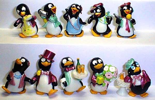 Пингвины в баре. Европа.