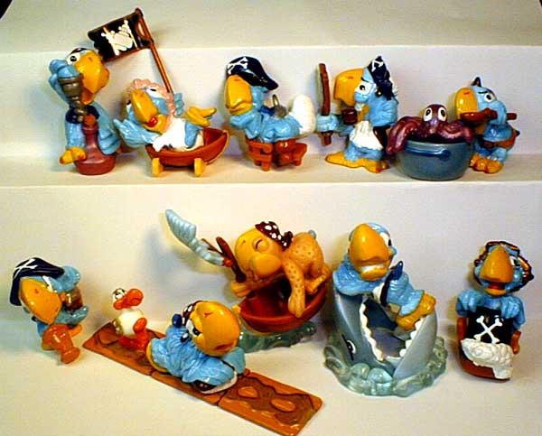 Попугаи-Пираты.